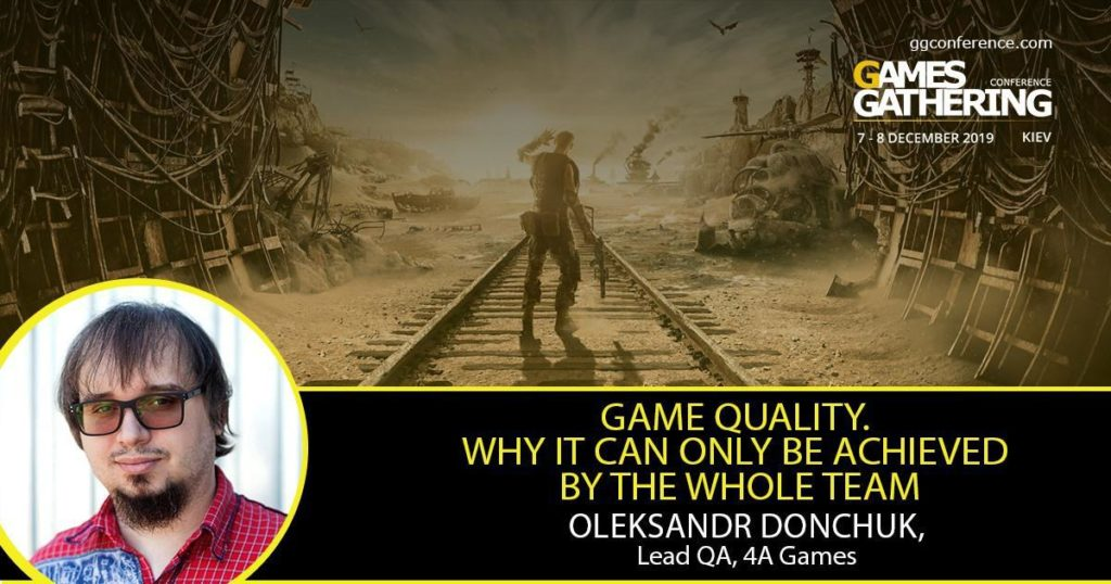 Розробник Metro Exodus читатиме лекцію на Games Gathering