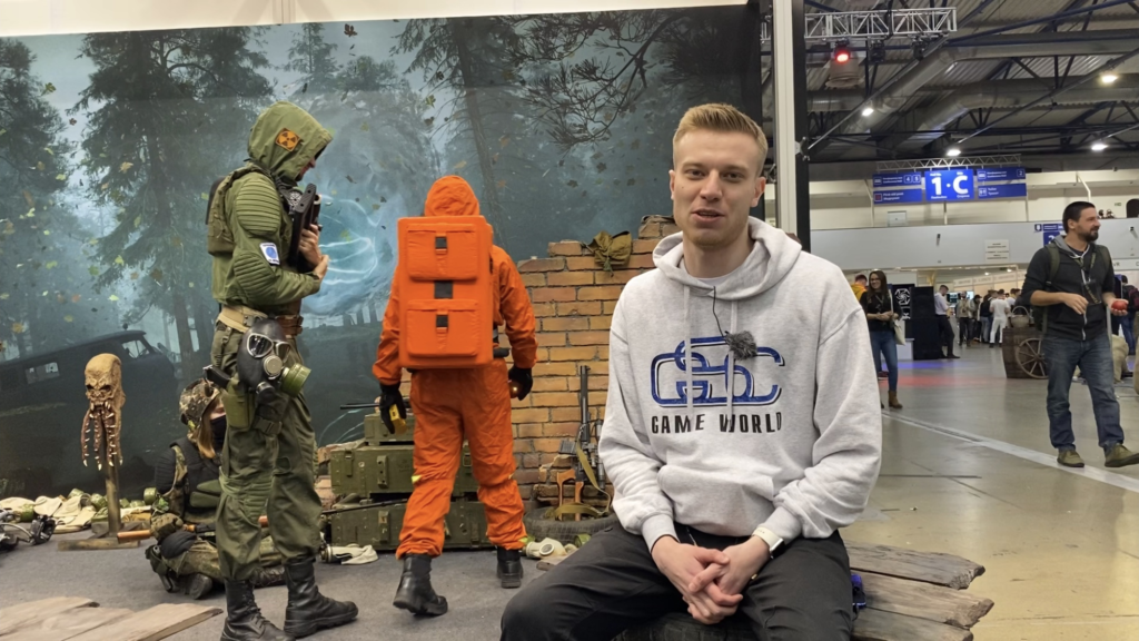 Выступление PR-менеджера GSC Game World на главной сцене Games Gathering Kyiv 2019