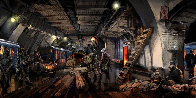 """Святкування 10-ї річниці Metro 2033. """"Це історія, що відбувається в Східній Європі і розказана східними європейцями""""."""