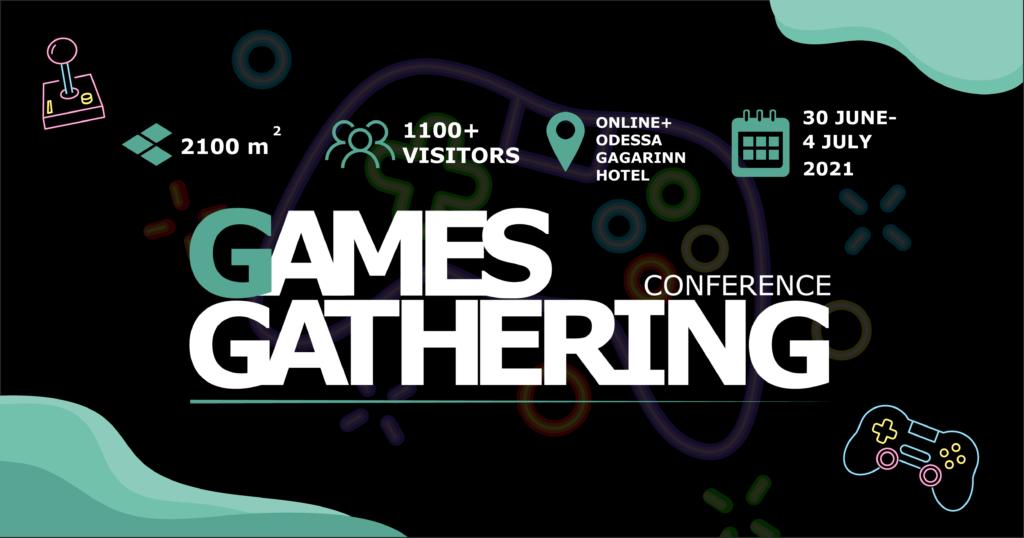 Games Gathering 2021 Odessa приближается!