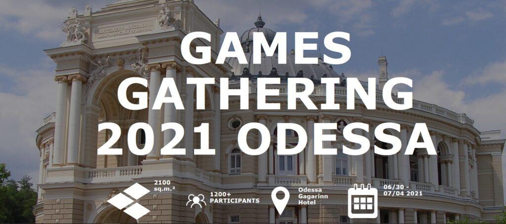 CEO Vostok Games, Concept Artist 4A Games и CEO Starni Games. Что интересного предлагает Games Gathering Odessa 2021?